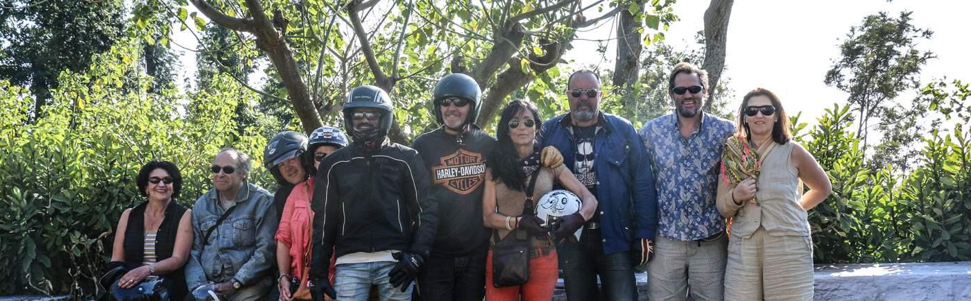 Inde du sud a moto Royal Enfield