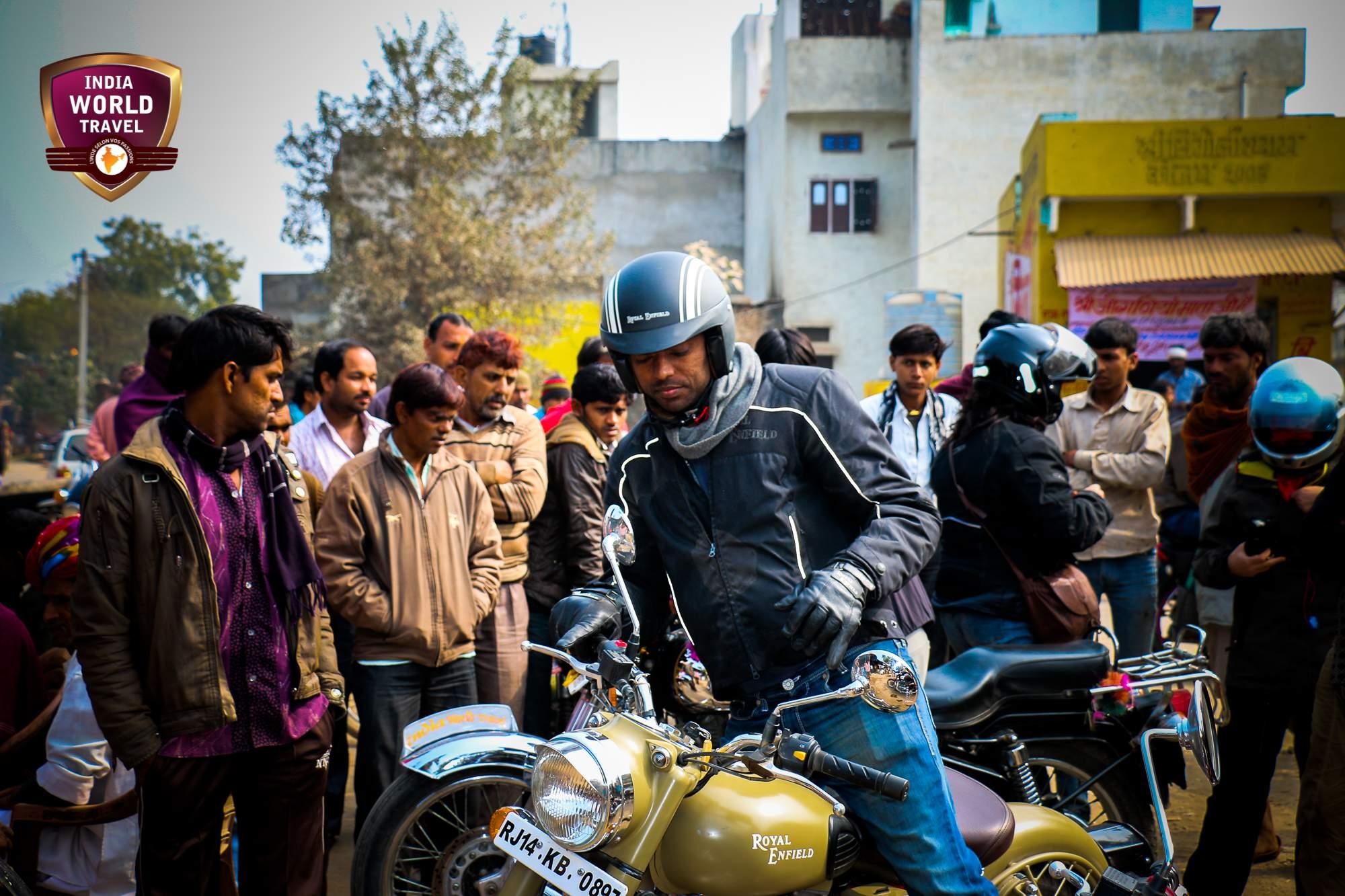 voyage moto au rajasthan