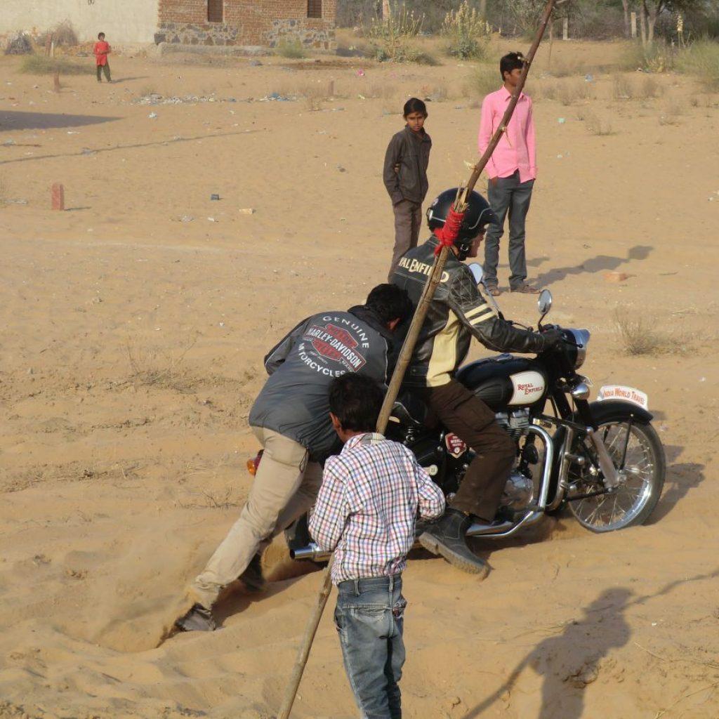 raid moto au Rajasthan