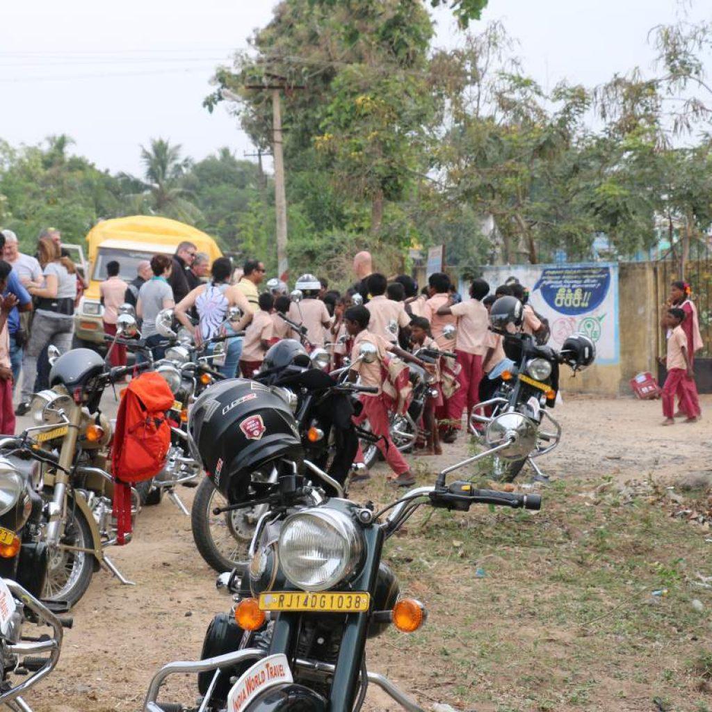 Inde du sud a moto