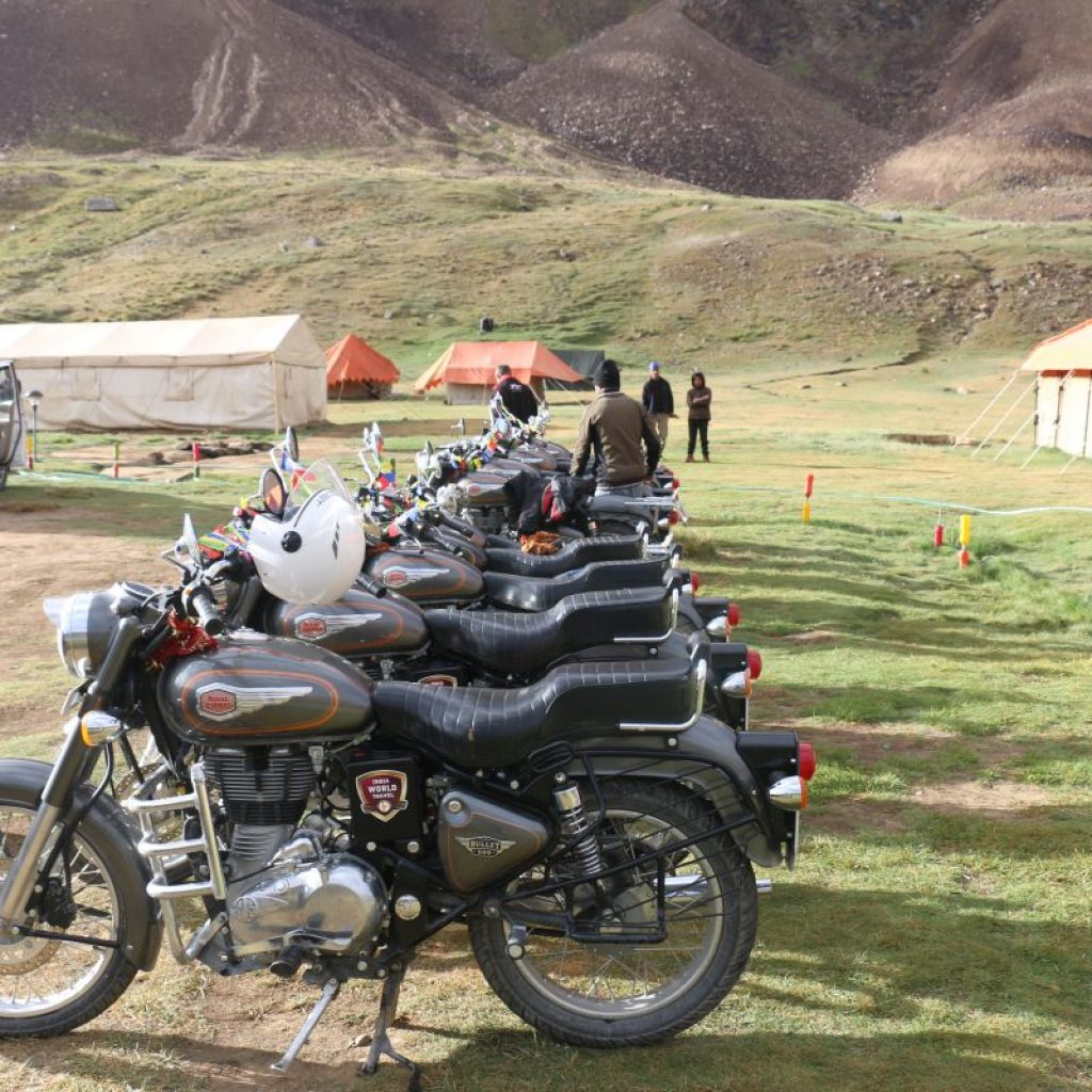 raid moto en Himalaya
