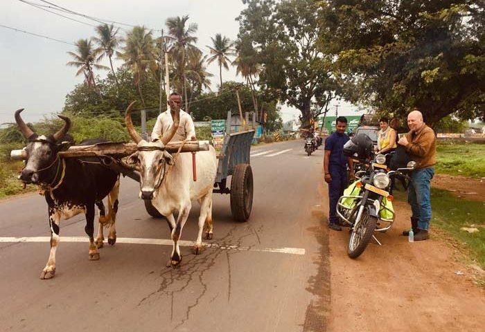 Sud de l'Inde en moto
