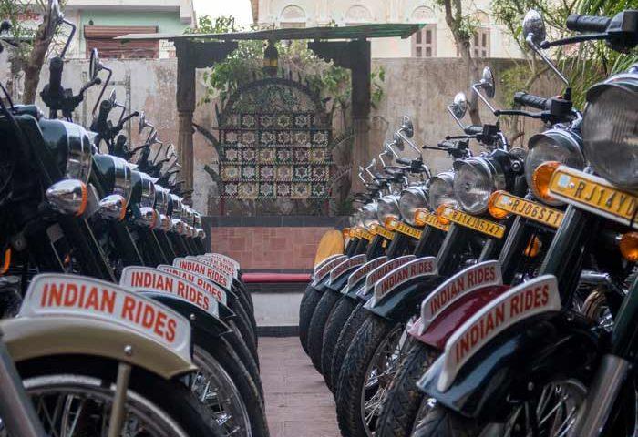 Inde du nord en moto