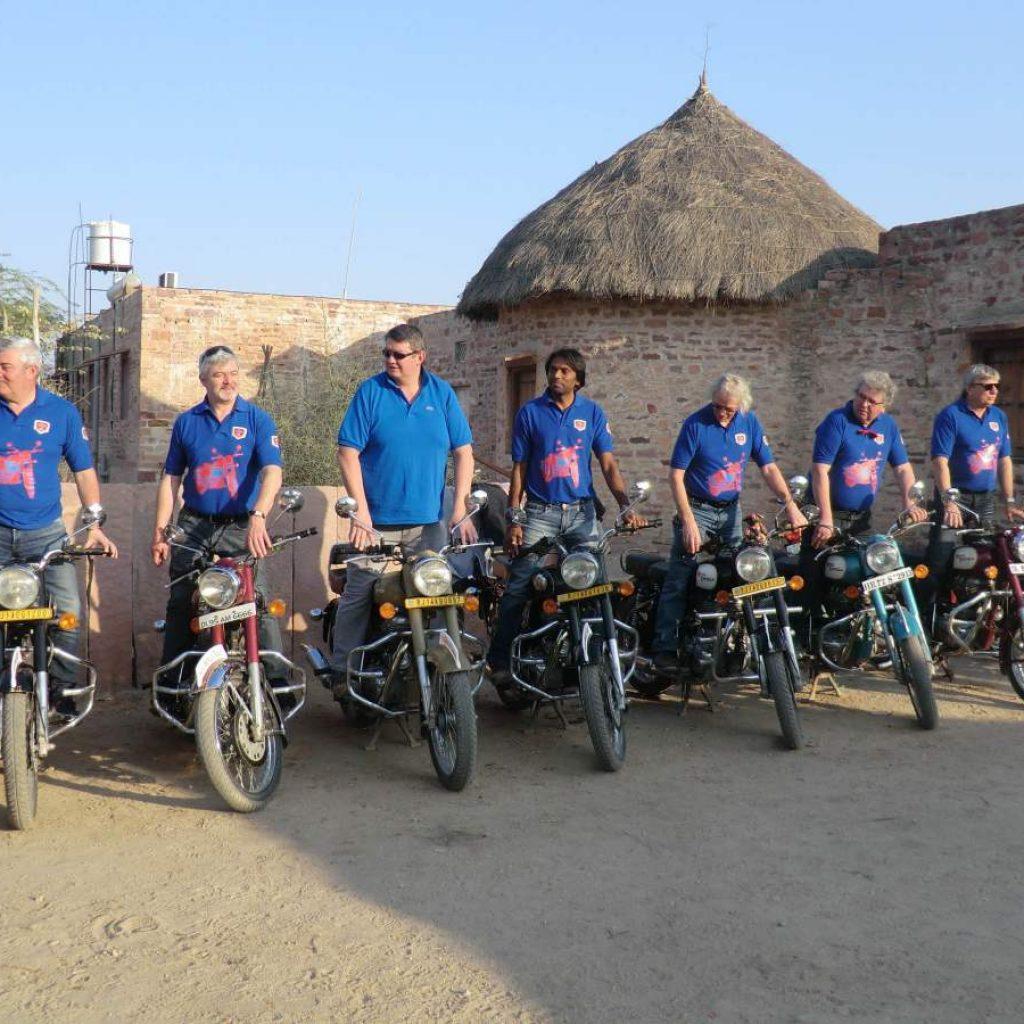 Voyage Moto Rajasthan