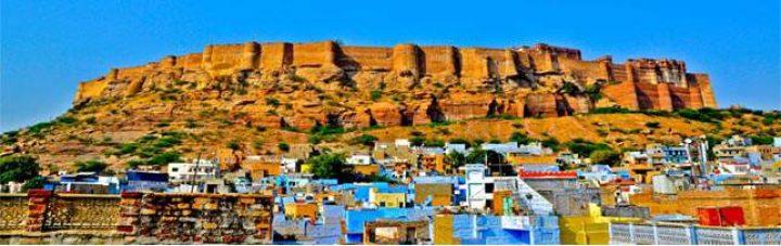 Jodhpur ville bleue