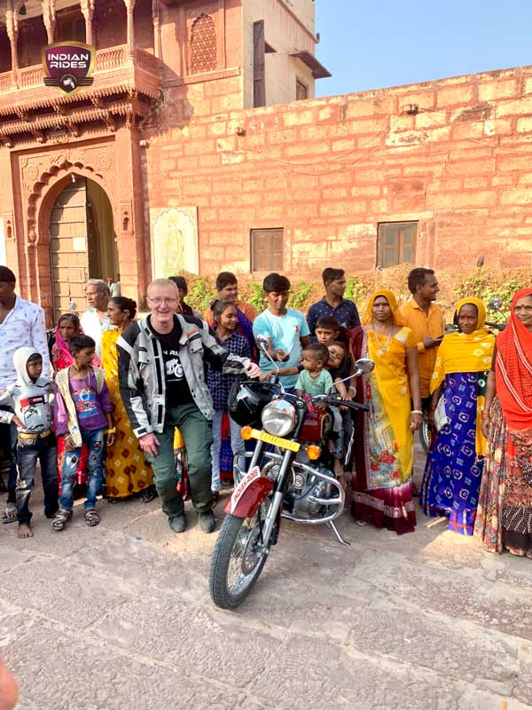 vivre un circuit moto Rajasthan plus authentique